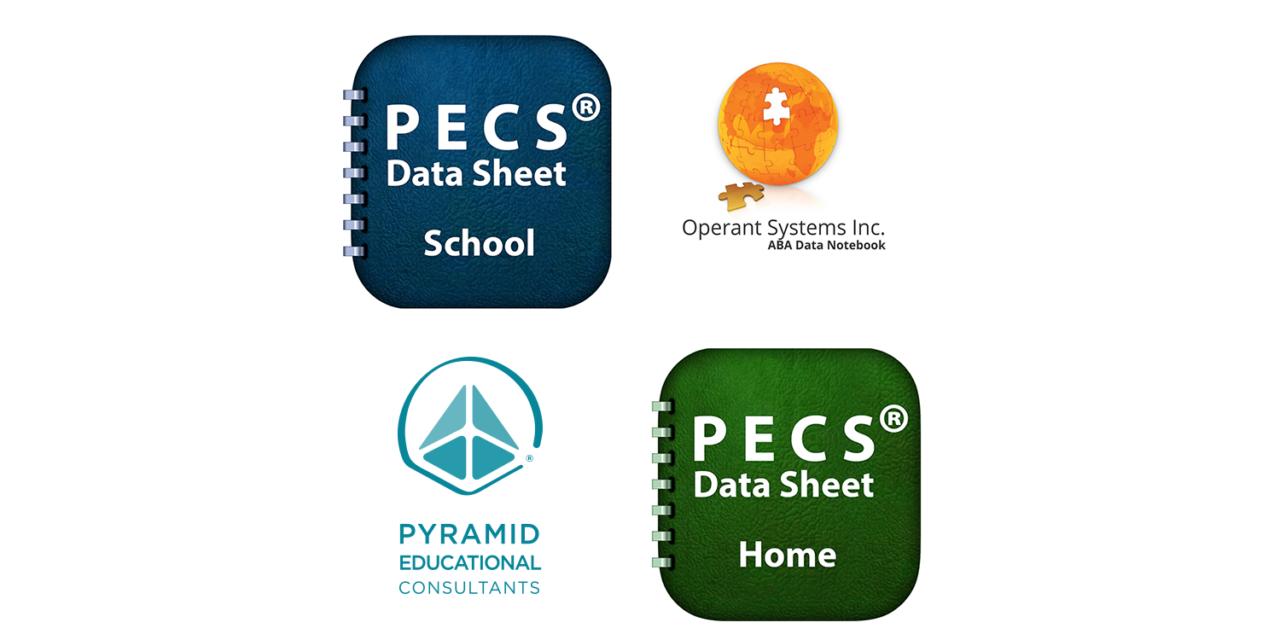 NEW APPS: PECS Data Sheet-Home & PECS Data Sheet-School